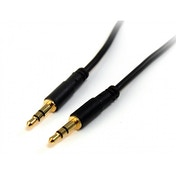 10 ft Slim 3.5mm Stereo Audio Cable - M/M