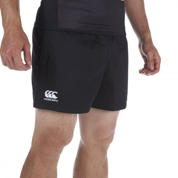 Canterbury Professional Cotton Rugby Short Black - XXL