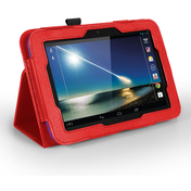 YouSave Accessories Tesco Hudl Leather-Effect Stand Case - Red