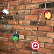 Marvel Avengers Mixed 2D String Lights