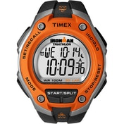 Timex T5K529 Mens Ironman Triathlon Digital Watch - Black/Orange