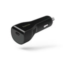 Hama Car Charger, USB Type-C port, power delivery (PD), 3A, black