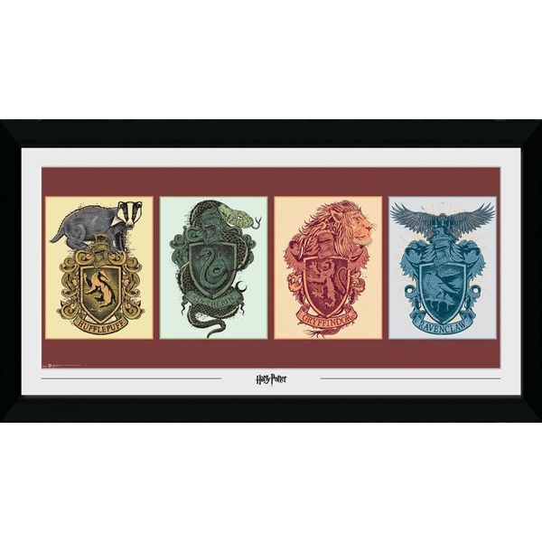 Harry Potter House Animals Collector Print