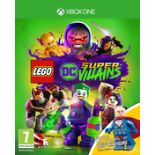 Lego DC Super Villains Mini-Fig Edition Xbox One Game (Lex Luthor Figurine)