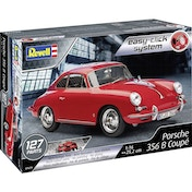 Porsche 356 Coupe Revell 1:16 Easy Click Model Kit