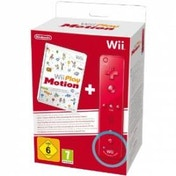 Play Motion Game + Red MotionPlus Remote Wii & Wii U