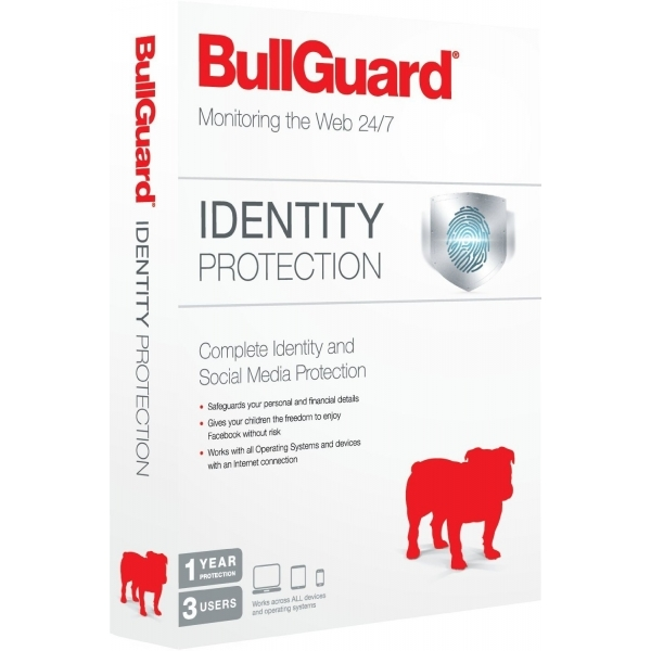 Bullguard Identity Protection 1 Year/3 User