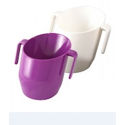 Doidy Training Cup Purple + Doidy Training Cup White