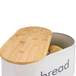 Kitchen Bread Bin with Bamboo Chopping Board Lid | M&W - Image 3