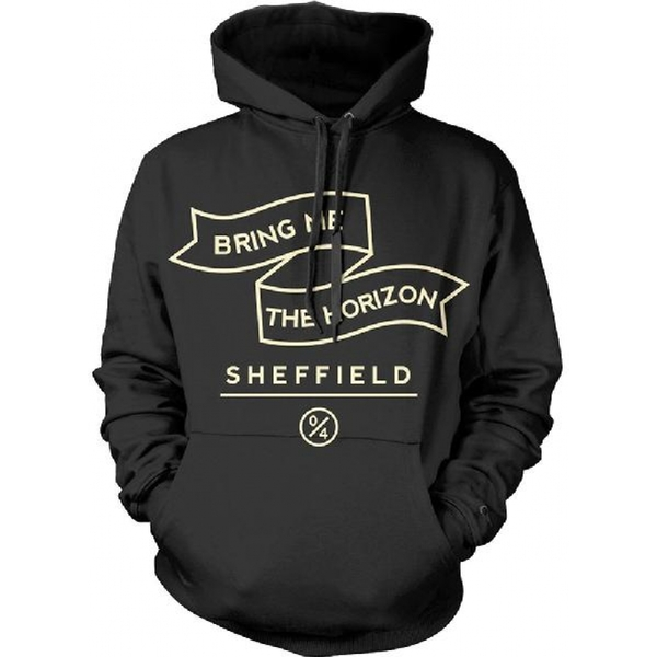 Bring me the Horizon Banner Men's XX-Large Hooded Top - Black