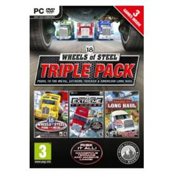 18 Wheels of Steel Compilation Game PC