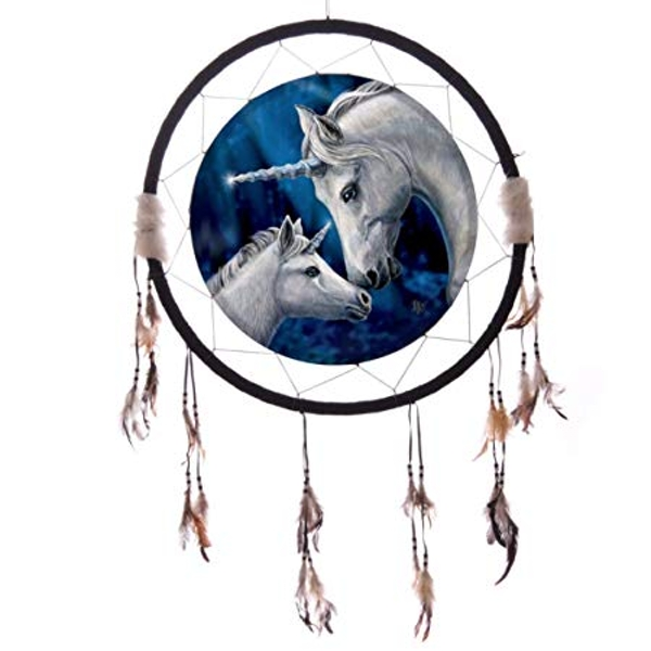 Decorative Unicorn and Foal 16cm Dreamcatcher