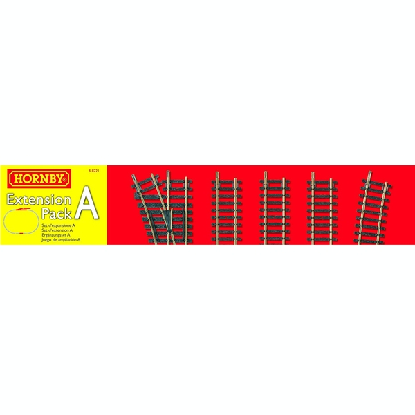 Hornby Railways Track Extension Pack A