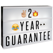 A4 Cinematic Lightbox 205 Emoji/Letters & Free USB Cable M&W Lightbox