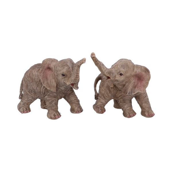 Trunk to Trunk Elephant Figurine