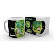 Rick and Morty Logo Mug