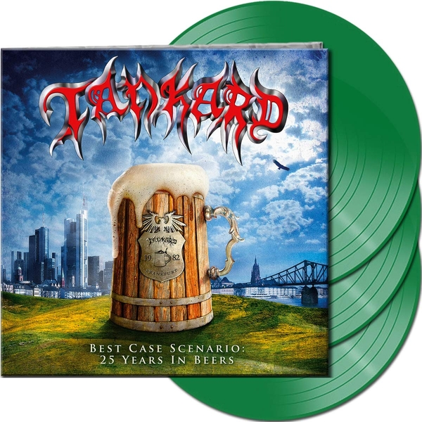 Tankard - Best Case Scenario - 25 Years In Beers Green  Vinyl