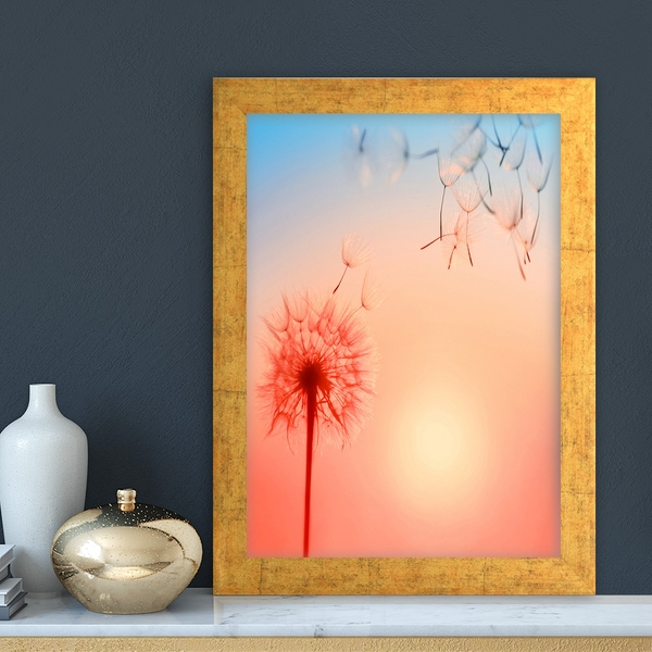 AC12512935813 Multicolor Decorative Framed MDF Painting