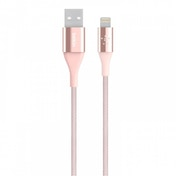 Belkin Premium Lightning Cable with Kevlar Material Rose Gold