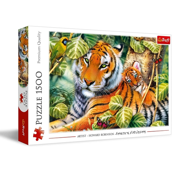 Two Tigers Jigsaw Puzzle - 1500 Pieces