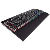 Corsair Gaming CH-9206015-UK K55 Rubber Dome Multi-Colour RGB Backlit Keyboard Black UK Layout