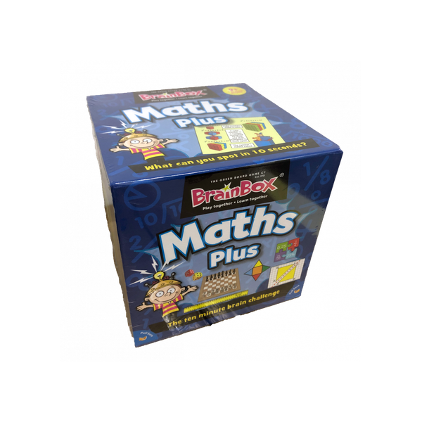 BrainBox Maths Plus Card Game