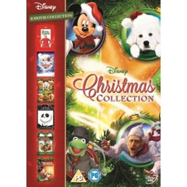 Disney Christmas Collection Box Set 6 Films DVD