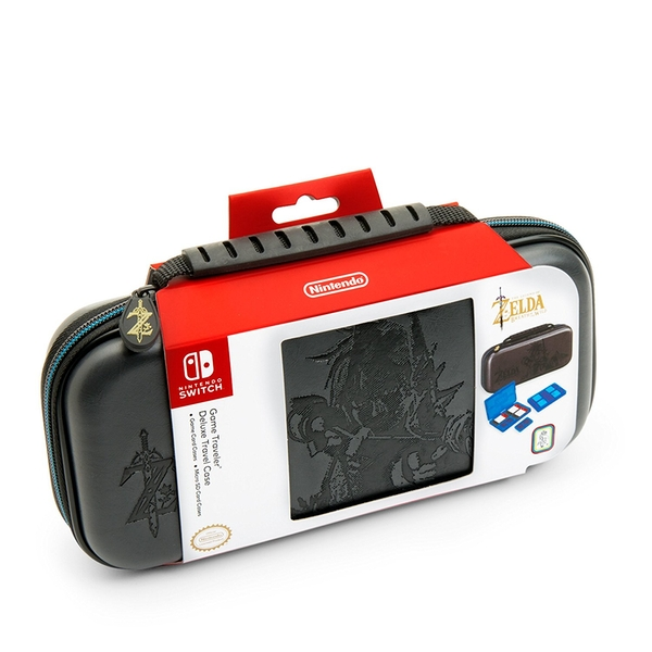 Nintendo Switch Officially Licensed Zelda Breath of the Wild Link Deluxe Travel Case - Image 1