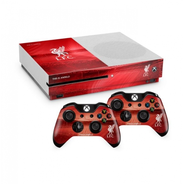 Official Liverpool FC Xbox One S Console Skin and 2x ... Official Xbox One Console