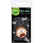 Rick and Morty - Morty Terrified Face Keychain