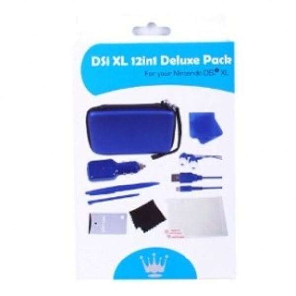 Crown 12 in 1 Deluxe Accessory Pack Dark Blue DSI XL - Image 2