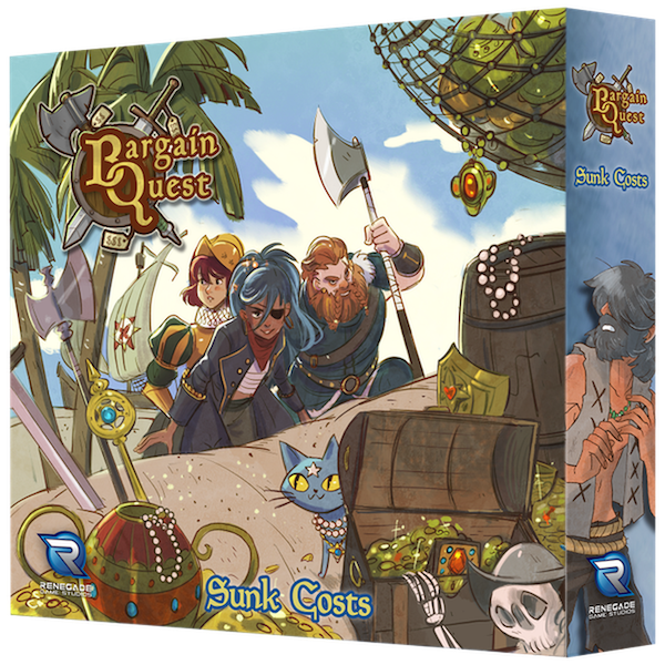 Bargain Quest: Sunk Cost Expansion Board Game