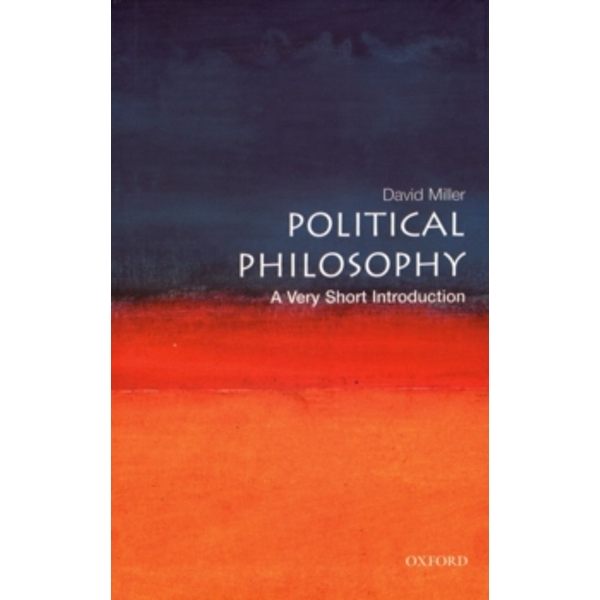 Political Philosophy: A Very Short Introduction by David Miller (Paperback, 2003)