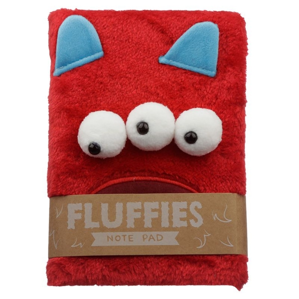 Monstarz Monster Plush Fluffies Notepad/Notebook