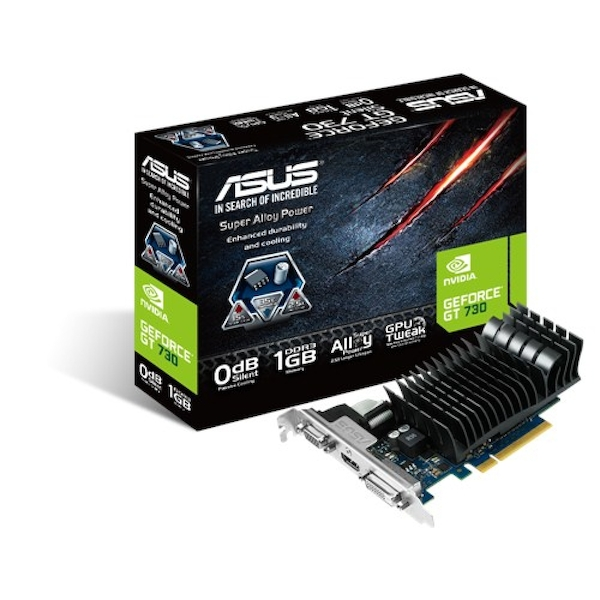 ASUS 90YV06P1-M0NA00 GeForce GT 730 1GB GDDR3 Graphics Card