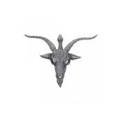 Baphomet's Watch Wall Plaque
