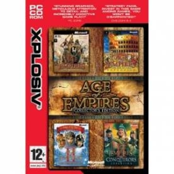 Ex-Display Age Of Empires Collector's Edition Game PC Used - Like New