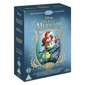 The Little Mermaid Triple Boxset 1 2 & 3 Blu-ray
