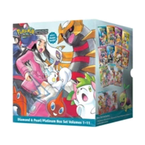Pokemon Adventures Diamond & Pearl / Platinum Box Set by Hidenori Kusaka (Paperback, 2014)