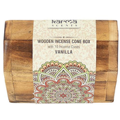 Karma Vanilla Incense Cone Wooden Set
