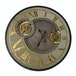 Wm. Widdop Wall Clock with Moving Gears 60cm - Image 2
