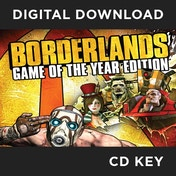 Borderlands Game Of The Year Edition (GOTY) PC CD Key Download for Steam