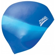 Zoggs Multi-Colour Silicone Cap Assorted PK 6