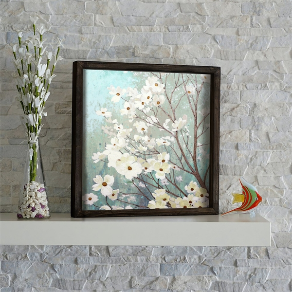 KZM534 Multicolor Decorative Framed MDF Painting