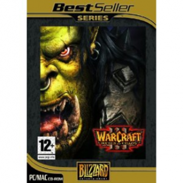 Warcraft III 3 Reign Of Chaos Game PC
