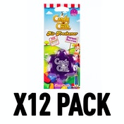 Sweet Berries (Pack Of 12) 3D Gel Candy Crush Air Freshener
