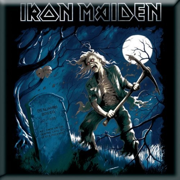 Iron Maiden - Benjamin Breeg Fridge Magnet