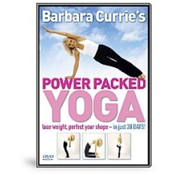 Barbara Currie Power Packed Yoga DVD