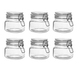 Set of 6 500ml Clip Top Jar | M&W - Image 3