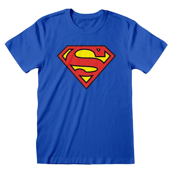 DC Comics - Superman Logo Unisex XL T-Shirt - Blue
